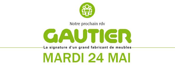 Logo Gautier visite d'entreprise